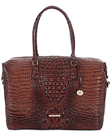 Brahmin Duxbury Melbourne Embossed Leather Carryall