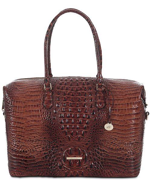 99c88812 Brahmin Duxbury Melbourne Embossed Leather Carryall & Reviews ...