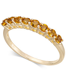 Citrine Ring (5/8 ct. t.w.) in 14k Gold