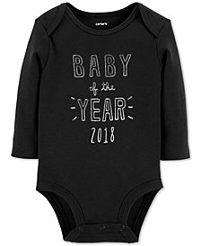 Carter's Baby Boys & Girls Baby of the Year Cotton Bodysuit