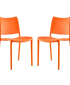 Modway Hipster Dining Side Chair Set of 2