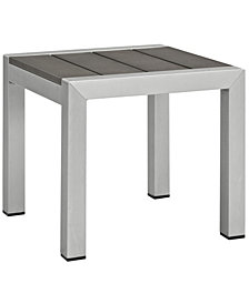 Modway Shore Outdoor Patio Aluminum Side Table
