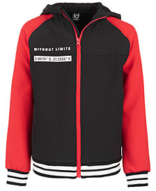 Ideology Big Boys Colorblocked Zip-Up Jacket, Created for Macy's