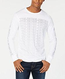 True Religion Men's Long-Sleeve Logo T-Shirt