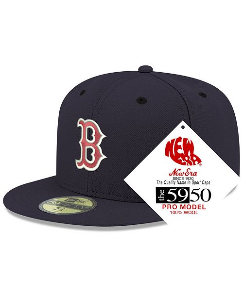 44baf7038f0 New Era Boston Red Sox Retro Classic 59FIFTY FITTED Cap & Reviews ...