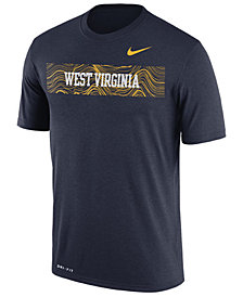 Nike Men's West Virginia Mountaineers Legend Staff Sideline T-Shirt
