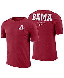 Nike Men's Alabama Crimson Tide Dri-FIT Cotton Stadium T-Shirt