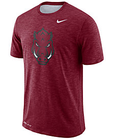 Nike Men's Arkansas Razorbacks Dri-FIT Cotton Slub T-Shirt
