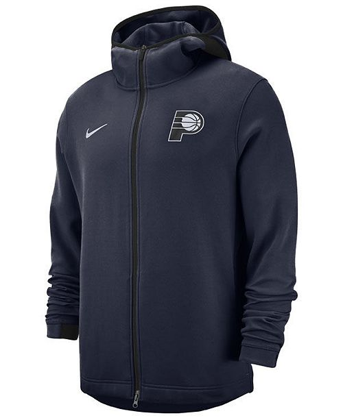 Nike Men's Indiana Pacers Dry Showtime Full-Zip Hoodie