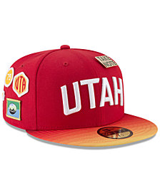 New Era Utah Jazz City On-Court 59FIFTY FITTED Cap