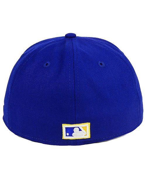 New Era Seattle Mariners Heritage Retro Classic 59FIFTY FITTED Cap ... fb6deaf1d777