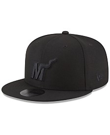 New Era Miami Heat Alpha Triple Black 59FIFTY FITTED Cap