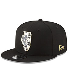 New Era Chicago Bears Gold Stated 9FIFTY Snapback Cap