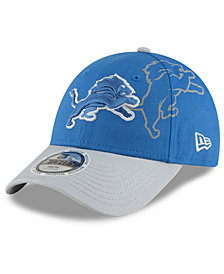 New Era Boys' Detroit Lions Side Flect 9FORTY Cap