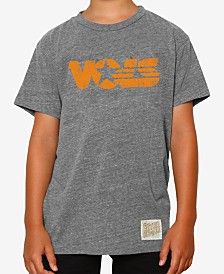 Retro Brand Tennessee Volunteers Tri-Blend T-Shirt, Big Boys (8-20)
