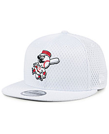 New Era Cincinnati Reds Batting Practice Mesh 9FIFTY Snapback Cap