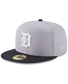 New Era Detroit Tigers Batting Practice Wool Flip 59FIFTY FITTED Cap