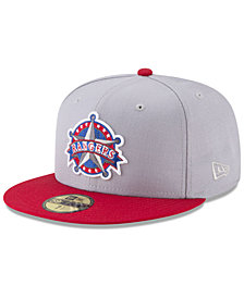 New Era Texas Rangers Batting Practice Wool Flip 59FIFTY FITTED Cap