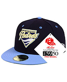 New Era San Diego Padres Retro Stock 59FIFTY FITTED Cap