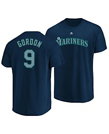 Majestic Men's Dee Gordon Seattle Mariners Official Player T-Shirt