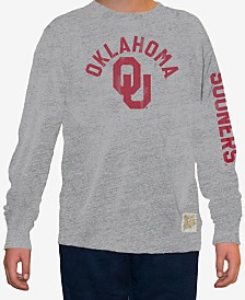 Retro Brand Oklahoma Sooners Mock Twist Long Sleeve T-Shirt, Big Boys (8-20)