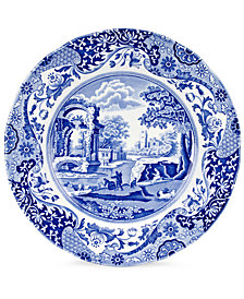 """Spode """"Blue Italian"""" Dinner Plate, 10.5"""""""