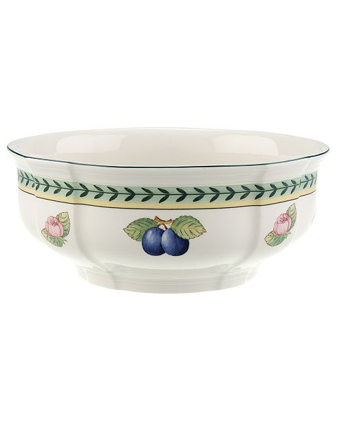 "Villeroy & Boch Dinnerware, 8"" French Garden Vegetable Bowl"