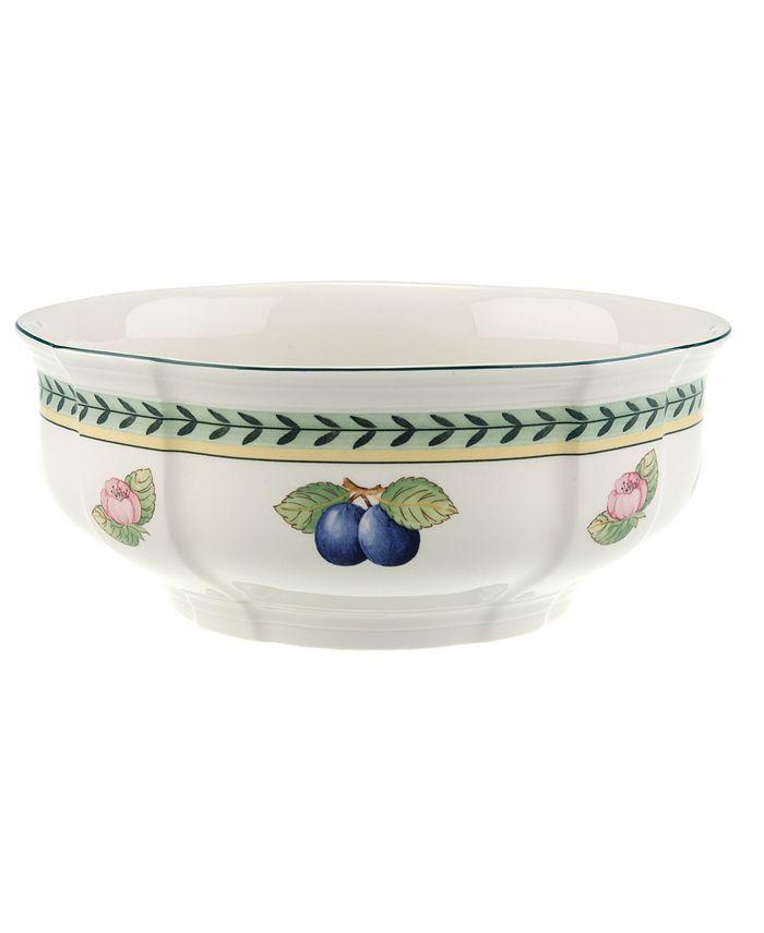 "Villeroy & Boch - ""French Garden"" 8"" Round Vegetable Bowl"