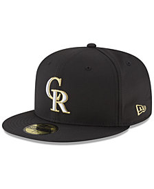 New Era Colorado Rockies Prolite Gold Out 59FIFTY FITTED Cap