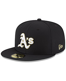 New Era Oakland Athletics Prolite Gold Out 59FIFTY FITTED Cap