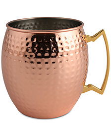 Thirstystone Hammered Copper-Plated Mule Mug-Shaped Ice Bucket