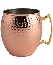 Thirstystone Hammered Copper-Plated Mule Mug-Shaped Ice Bucket