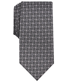 Perry Ellis Men's Ayalet Mini Neat Silk Tie