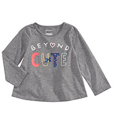 First Impressions Baby Girls Beyond Cute Graphic T-Shirt, Created for Macy's