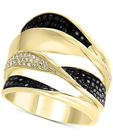 EFFY® Diamond Pavé Twist Multi-Layer Ring (7/8 ct. t.w.) in 14k Gold