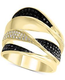 EFFY® Diamond Pavé Twist Multi-Layer Ring (7/8 ct. t.w.) in 14k Gold