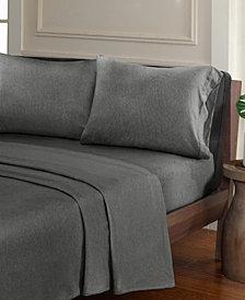 Urban Habitat Heathered 4-PC Full Cotton Jersey Knit Sheet Set