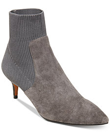 STEVEN by Steve Madden Kagan Stretch Kitten-Heel Booties