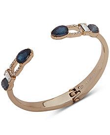 Ivanka Trump Gold-Tone Crystal Cuff Bracelet