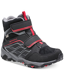 Merrell Big Boys Moab Polar Waterproof Boots