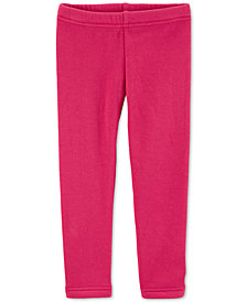 Carter's Baby Girls Cozy Pink Leggings
