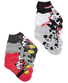 Disney's® 6-Pk. Graphic-Print Socks, Little Boys & Big Boys