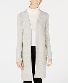 BCX Juniors' Long Open-Front Cardigan