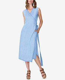 NYDJ Released-Hem Wrap Dress