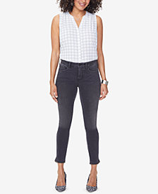 NYDJ Ami Embellished Ankle Skinny Jeans