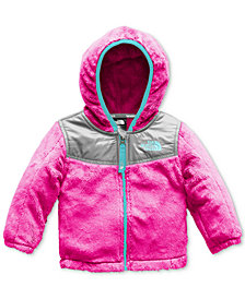 The North Face Baby Girl Chimborazo Pink Hooded Coat