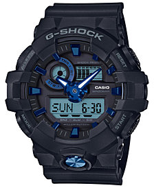 G-Shock Men's Analog-Digital Black Resin Strap Watch 53.4mm