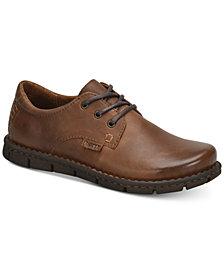 Born Men's Soledad Plain Toe Leather Oxford