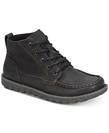 Born Men's Gilden Moc-Toe Leather Boots