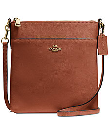 COACH Crossgrain Messenger Crossbody